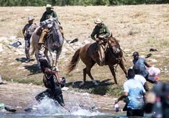 影》這是現代美國?白人警騎馬趕黑人震撼畫面曝光