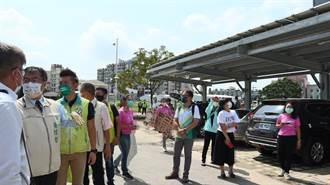 台南4場停車場建置太陽能 70萬回饋金用於地方