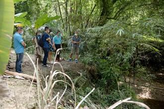 三峽福德坑溪護岸施作不一 農業局承諾改善