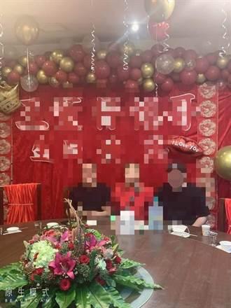 花3萬2佈置生日趴大紅布幔高高掛 網傻眼:根本紅包場