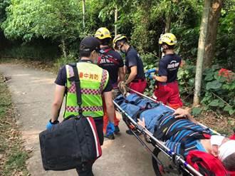 大坑步道救援升級 「輪式救援擔架」可入山區