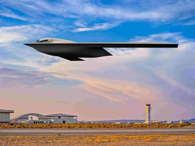 美國空軍42號工廠B-21隱形轟炸機生產線上,已有5架試驗用飛機正在建造,目標是2022年進行首飛與加緊測試。(圖/美國空軍)
