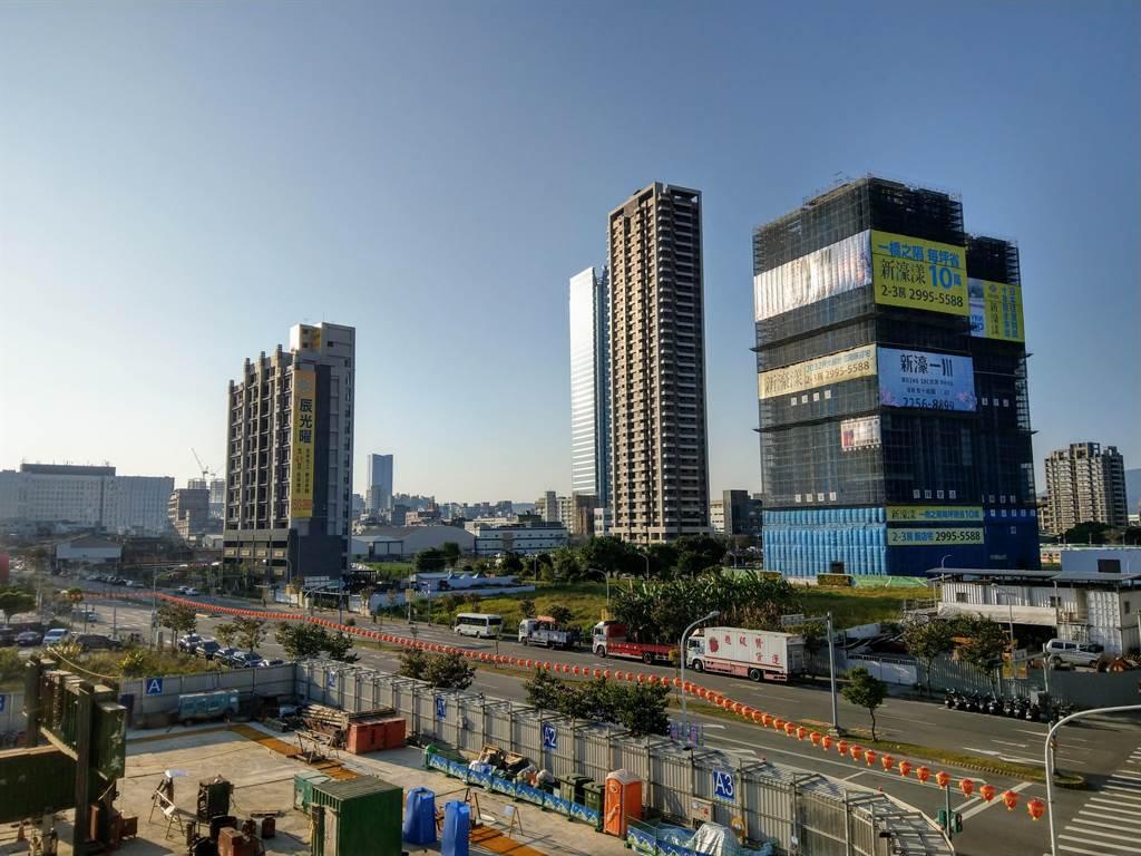 打房、缺工效應發酵,北台灣房市浮現缺貨危機。(圖/葉思含攝)