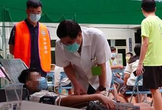 彰化田中高中打BNT 5學生不適、1人送醫