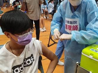 桃園大園、觀音高中昨開打BNT 今半數學生請疫苗假