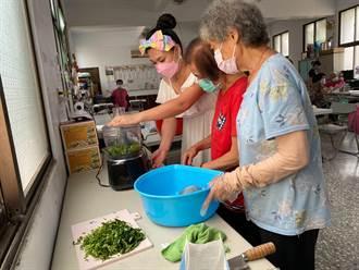 全台最大種空心菜村莊 古民社區應菜產品助農民也助長輩