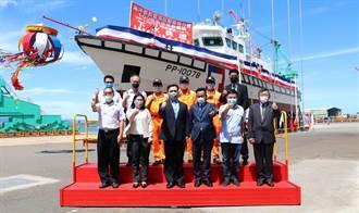 百噸巡防救難艇下水 最高航速達30節