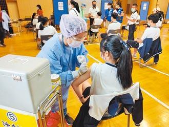 校園BNT 台南首日1372人接種