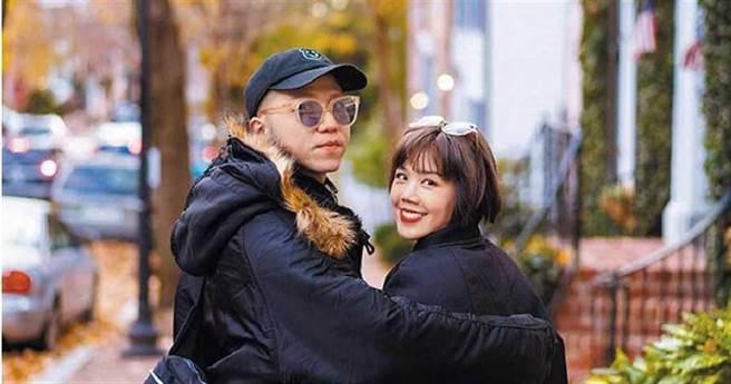 楊晨熙和大飛愛情長跑8年未果。(圖/IG)