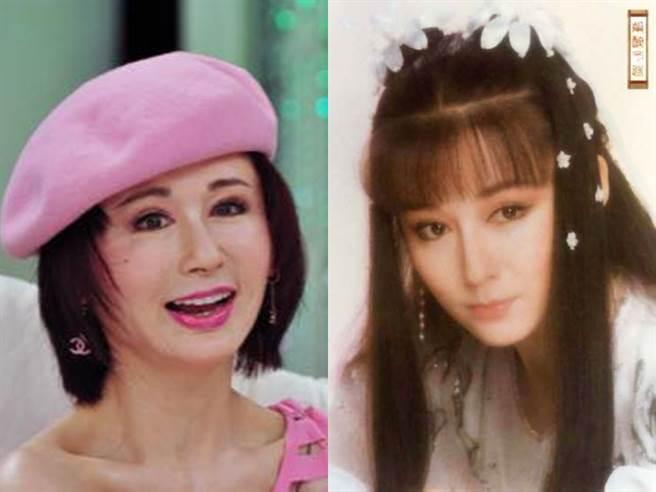 潘迎紫睽違9年更新臉書,貼出現在和以前的照片。(圖/FB@潘迎紫)