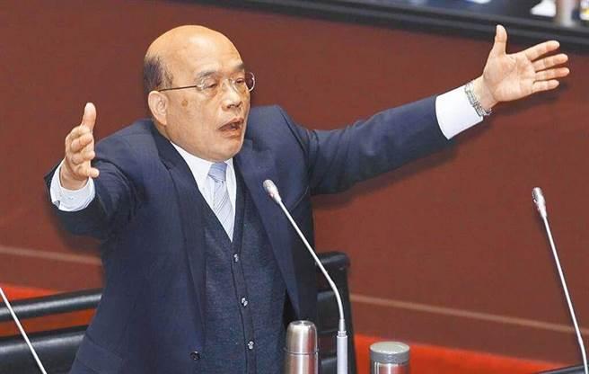 五倍券官網當機,行政院長蘇貞昌指出,昨日有1300萬人湧入該網站,可見五倍券大受歡迎。(資料照)