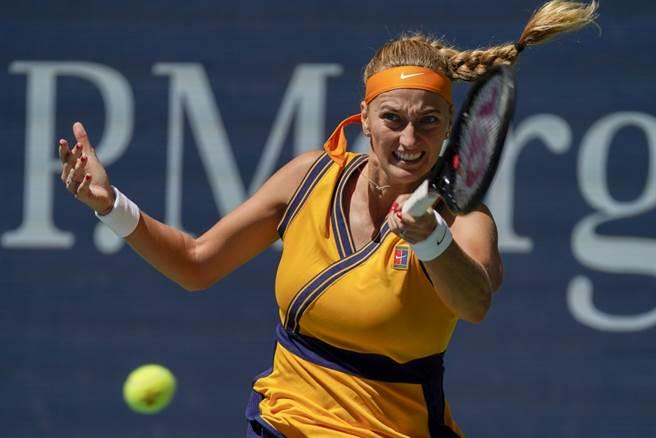 第二種子捷克女將克菲托娃今年31歲,目前WTA世界排名第10。(美聯社資料照)
