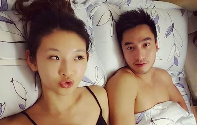 「華航林依晨」Ivy是賴弘國的前前妻,兩人結婚半年後離婚。(圖/FB@Ivy Chao)