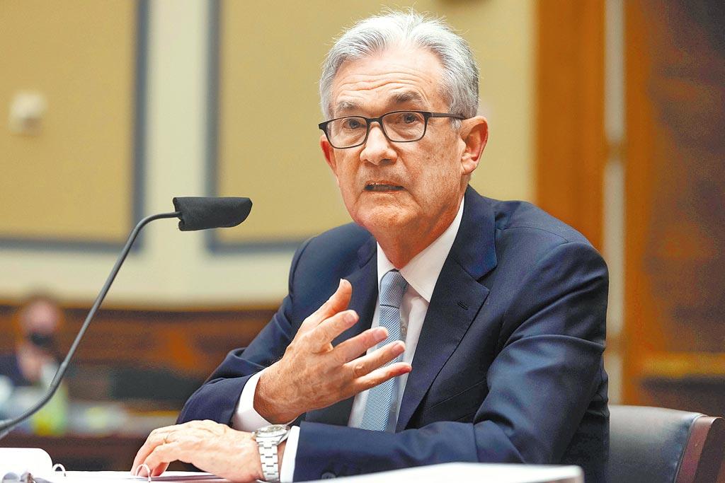 聯準會主席鮑爾表示,明年中結束購債,或許是適當時機。圖/美聯社