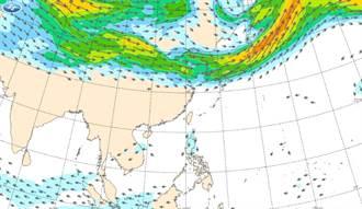 蒲公英恐成強颱 東北風報到!2地降雨機率大