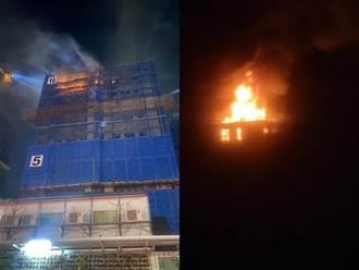 六張犁社宅凌晨火警 北市:影響輕微、完工目標不變