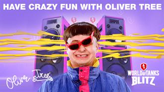 《戰車世界:閃擊戰》攜手美國奇葩音樂人兼滑板車大神Oliver Tree舉辦盛大「滑板車活動」派對