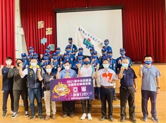 中興國中棒球隊金龍盃奪亞軍 再戰立德盃