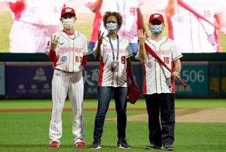 中職》為龍隊開球 克國大使:棒球讓我想起家鄉運動