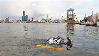 全台首艘迷你潛艇 完成載人測試