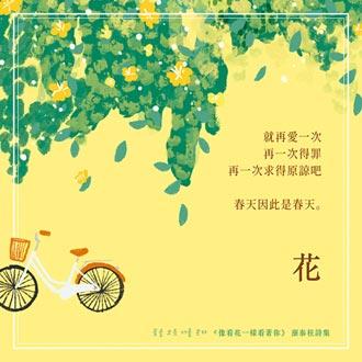 像看花一樣看著你──給台灣讀者