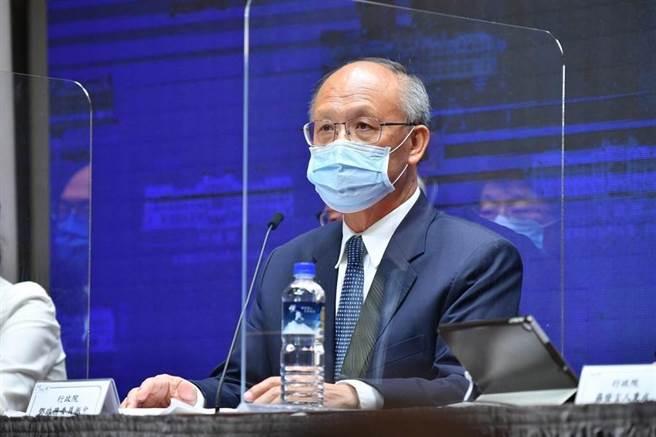 鄧振中表示,台灣目前以「台灣、澎湖、金門、馬祖個別關稅領域」的名義,加入世界貿易組織(WTO),台灣還是亞太經濟合作會議(APEC)的成員。(圖/行政院)