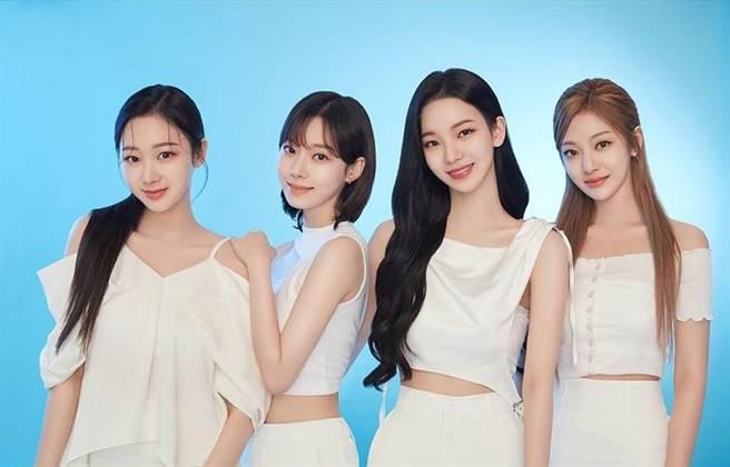 韓國SM娛樂新生代女團aespa。(圖/ 摘自aespa IG)