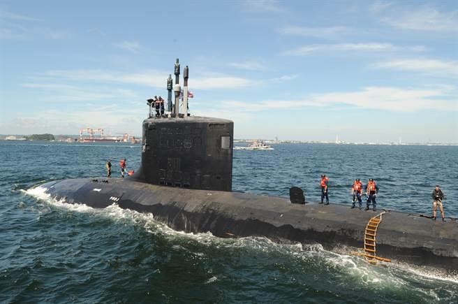 美國海軍承認,澳洲可能需要耗費數十年的時間,才有能力建造核潛艦艦隊。圖為美軍核潛艦。(圖/DVIDS)