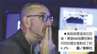 美股遇亂流 投資專家轉趨保守