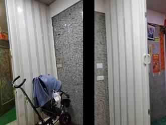 為解「對門煞」竟在電梯口裝拉門 鄰居離譜行徑住戶看傻