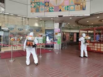 SOGO忠孝館有確診足跡 昨閉店清消、今8樓停業靜置一天