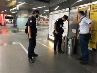 高捷驚收「炸彈恐嚇」 警全力加強巡邏