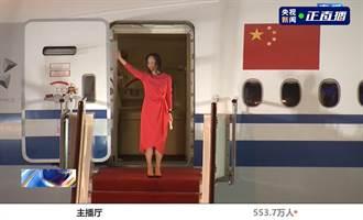 孟晚舟抵達深圳身著紅衣哽咽發表感言 一句話就淚崩