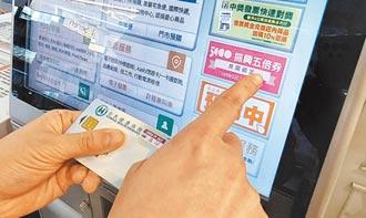 帶健保卡 紙本五倍券 今起超商及上網預約 郵局預約需等到10月4日