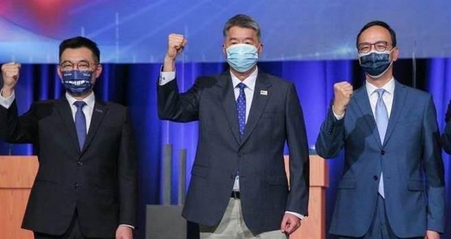 國民黨主席候選人。(圖/中天新聞 提供)