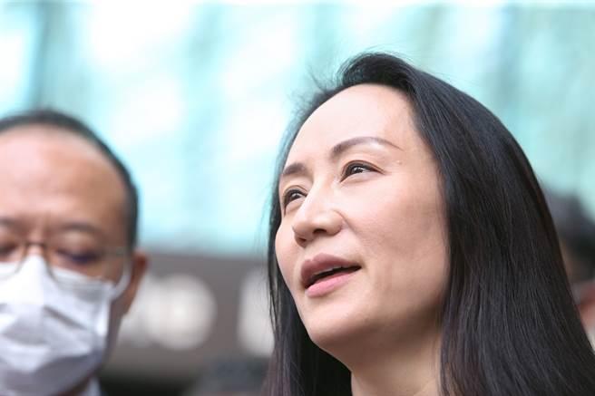 華為財務長,同時也是華為創辦人任正非女兒的孟晚舟在25日凌晨獲釋,已返回中國大陸。(圖/路透)