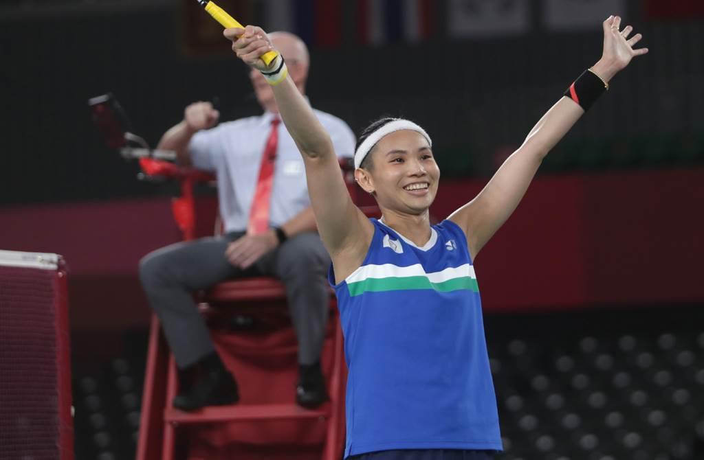戴資穎在東京奧運雖沒拿到金牌,但仍實現了「奧運奪牌」夢想。(中時資料照片)
