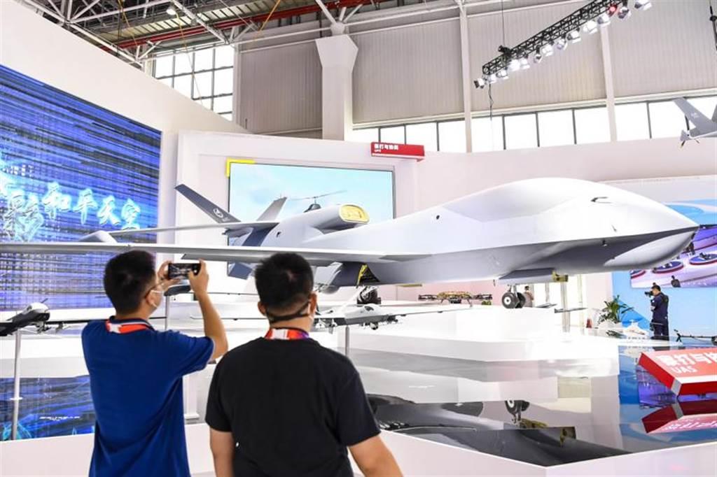 高空無人偵察機無偵-7將在本屆珠海航展首次亮相。(圖/中新社)