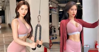 看完她的照片也想做運動 正妹「健身教練」魔鬼曲線迷倒51萬人