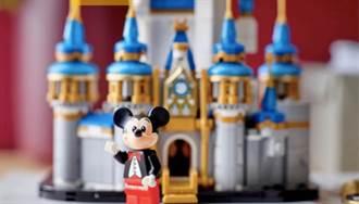 週年就有LEGO是不敗定律?燕尾服米奇加迷你版迪士尼城堡超精緻