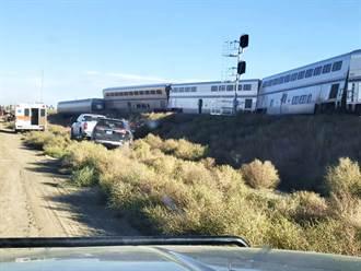 影》美載上百人火車出軌翻覆 至少3死數十人受傷