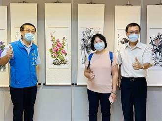 為期3週 先嗇宮墨堂藝遊師生展 展出書法、繪畫作品共206件