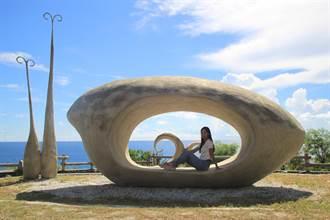 東海岸打卡景點「石門雙心」被震碎 鄉公所注入身心靈能量新地標