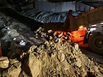 不肖業者三峽違法濫倒廢土至少5次 環保局告發最重開罰30萬