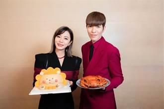 蕭敬騰、丁噹穿情侶裝拍MV 預告11月有好消息