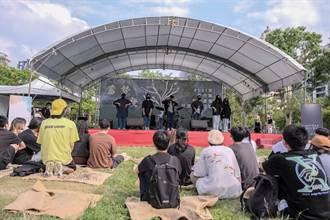 新竹縣14校社團展演 竹北水圳森林公園熱鬧滾滾