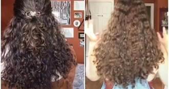 挑戰100天不用洗髮精!女網紅曝「頭髮真實狀況」 網驚:怎麼辦到的