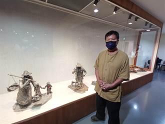 鐵焊柔情 素人藝術家林允力鋼雕創作展現農村風情