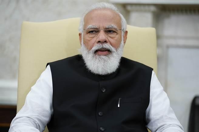 印度總理莫迪(Narendra Modi)。(圖/美聯社)