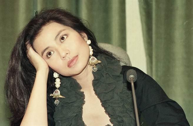 鍾楚紅被封為「香港第一美女」。(中時資料照片)